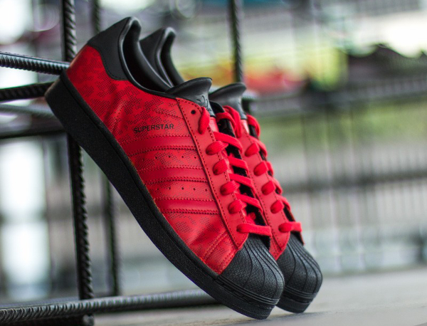 Où acheter la Adidas Superstar Camo 15 Black Red ?
