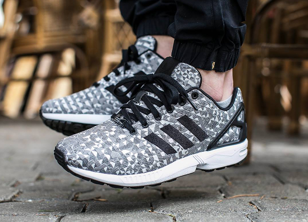 Adidas ZX Flux Weave Black Solid Grey (7)