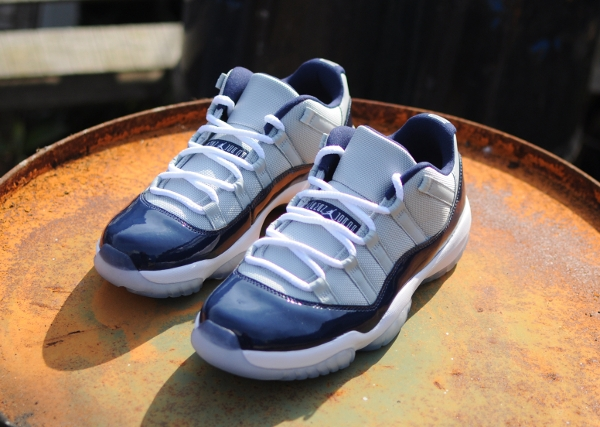 Air Jordan 11 Retro Low Georgetown (Grey Mist)