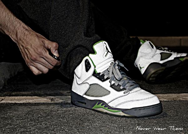 Air Jordan 5 Silver Grey - Never CWear Them