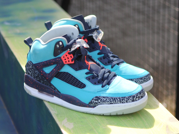 Air Jordan Spizike Infrared 23 Turquoise Blue (4)