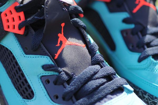 Air Jordan Spizike Infrared 23 Turquoise Blue (5)
