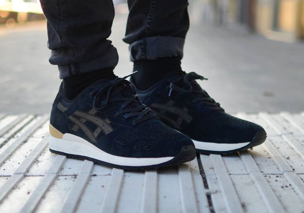 Asics Gel Lyte 3 Black Laser Cut (2)