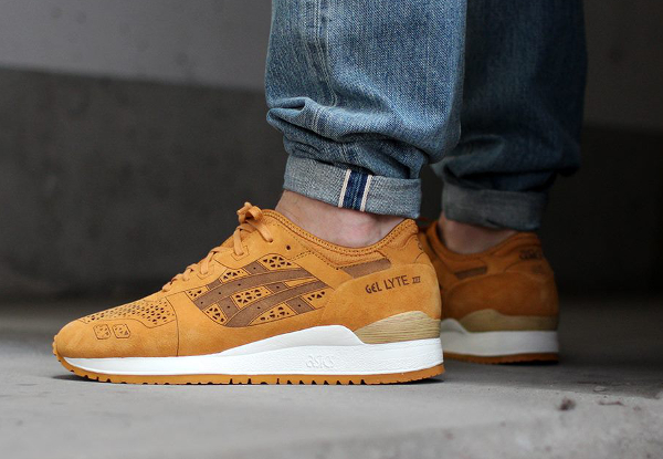Asics Gel Lyte 3 Laser Cut Tan (1)