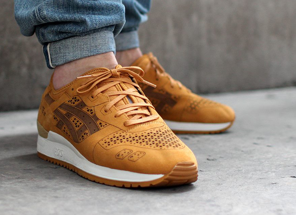 Asics Gel Lyte 3 Laser Cut Tan (2)