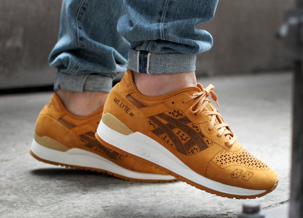 Asics Gel Lyte 3 Laser Cut Tan (3)