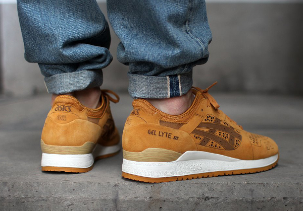 Asics Gel Lyte 3 Laser Cut Tan (4)