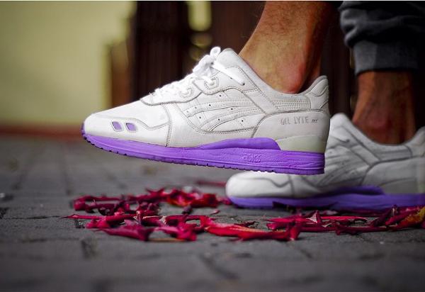 asics gel lyte 1990 violet