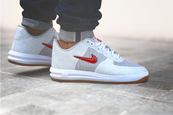 CLOT x Nike Lunar Force 1 Fuse SP Neutral Grey Uni Red (9)