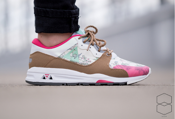 Le Coq Sportif LCS R1400 W Botanic Flowers | Sneakers actus