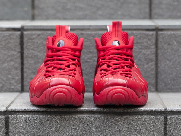 Nike Air Foamposite Pro Gym Red October (rouge et or) (6)