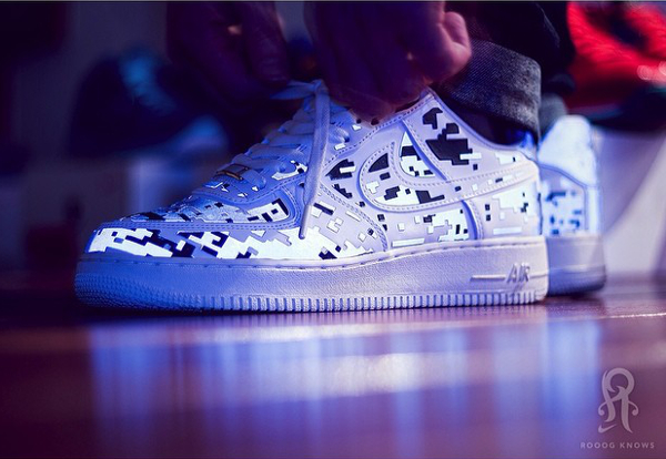 Nike Air Force 1 Digi Camo - Rooogknows