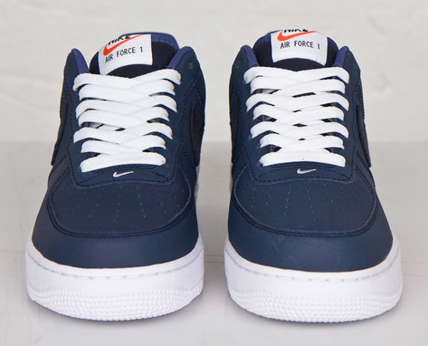 nike air force 1 low bleu marine