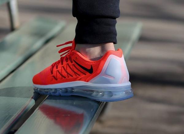 Nike Air Max 2015 Bright Crimson Black-Summit White (1)