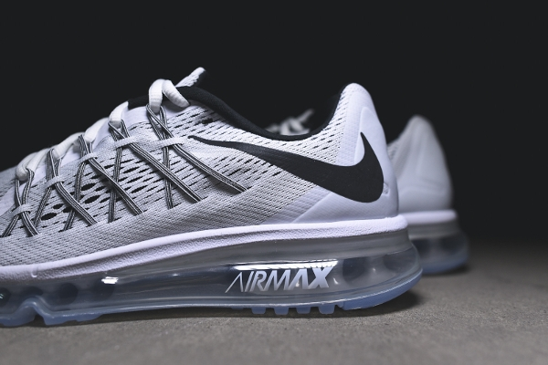 Nike Air Max 2015 White & Black (blanc et noir) (7)