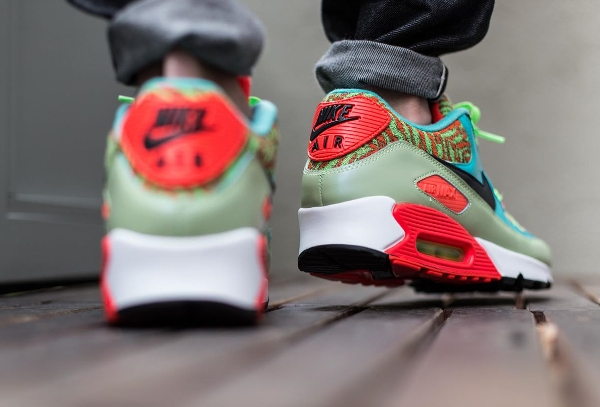 Nike Air Max 90 Infrared Flash Lime Jade 25th anniversary (1)