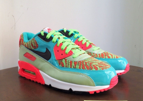 Nike Air Max 90 Infrared Flash Lime Jade 25th anniversary (10)
