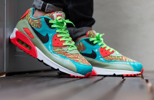 Nike Air Max 90 Infrared Flash Lime Jade 25th anniversary (2)