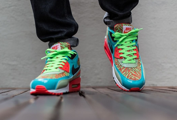 Nike Air Max 90 Infrared Flash Lime Jade 25th anniversary (4)