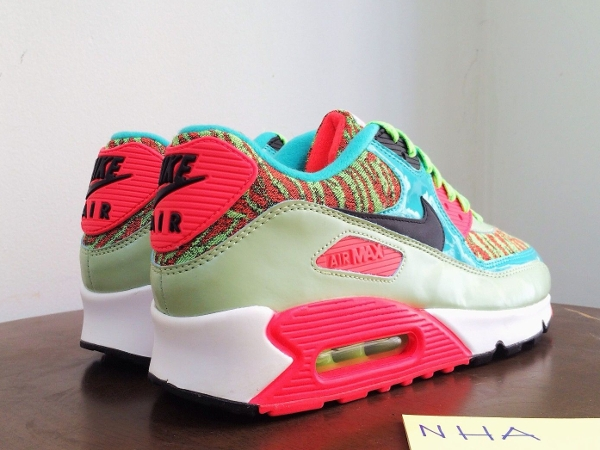 Nike Air Max 90 Infrared Flash Lime Jade 25th anniversary (6)