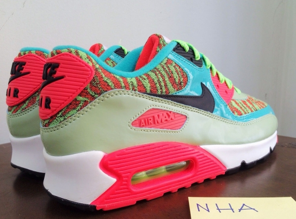 Nike Air Max 90 Infrared Flash Lime Jade 25th anniversary (9)