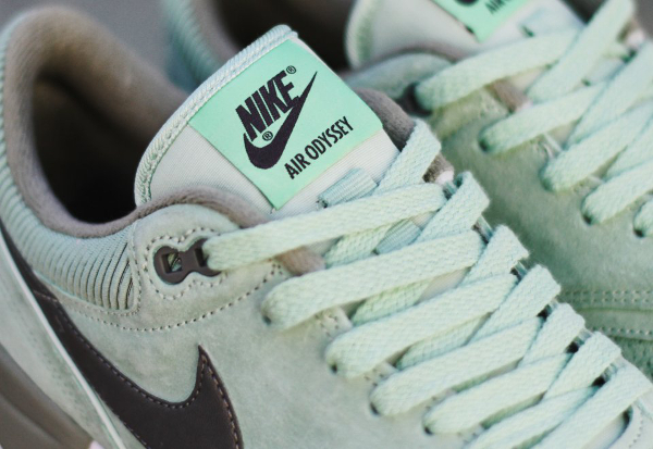 Nike Air Odyssey Leather Enamel Green (vert menthe) (3)