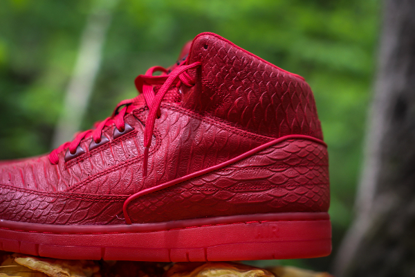 Nike Air Python Gym Red October (rouge) (2)