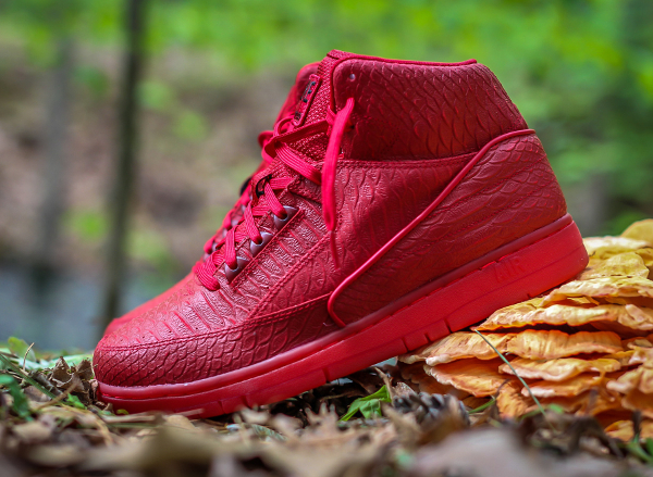 Nike Air Python Gym Red October (rouge) (4)