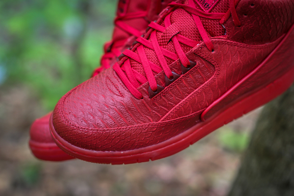 Nike Air Python Gym Red October (rouge) (5)