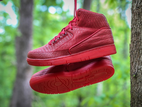 Nike Air Python Gym Red October (rouge) (6)