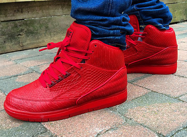 Nike Air Python Gym Red October (rouge) (7)