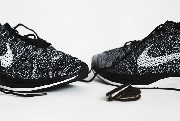 Nike Flyknit Racer Black White Oreo 2015 (3)