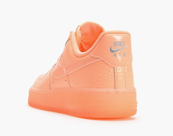 ... Nike wmns Air Force 1 Low Sunset femme rose saumon
