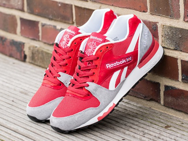 Reebok GL6000 Flash Red Flat Grey  (1)