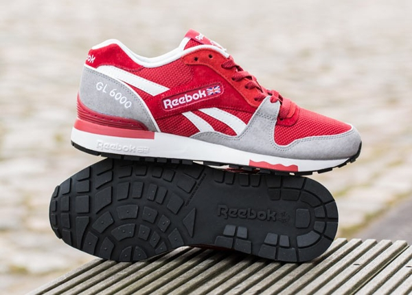 Reebok GL6000 Flash Red Flat Grey  (2)
