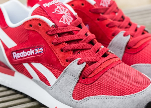 Reebok GL6000 Flash Red Flat Grey  (5)