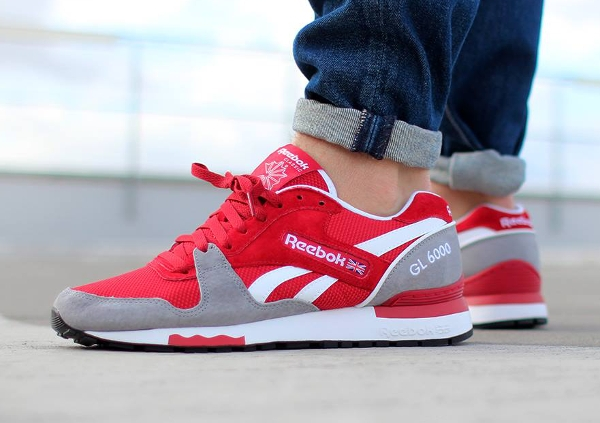Reebok GL6000 Flash Red Flat Grey  (7)