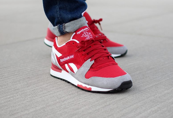 Reebok GL6000 Flash Red Flat Grey  (8)