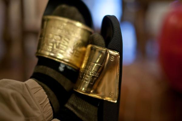 sandales Adilette Jeremy Scott Plaque (3)
