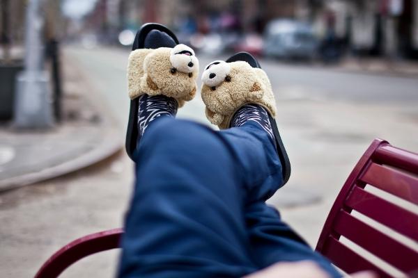 sandales Adilette Jeremy Scott Teddy Bear (2)