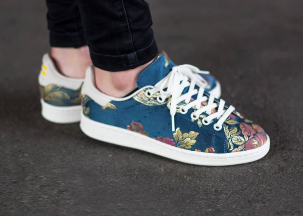 Adidas Stan Smith Jacquard par Pharrell Williams (Chalk White)