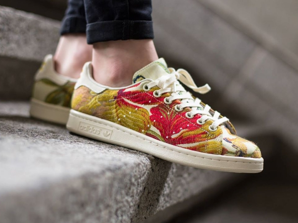 Adidas Stan Smith Jacquard par Pharrell Williams (Cream White) (1)