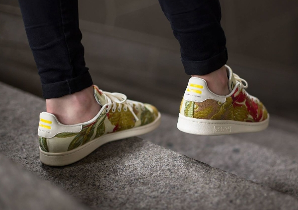 Adidas Stan Smith Jacquard par Pharrell Williams (Cream White) (2)