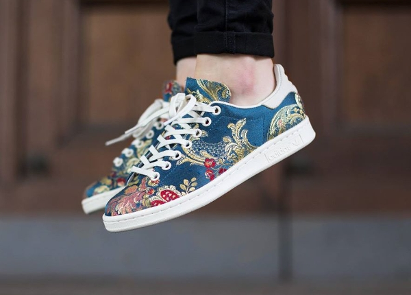 Adidas Stan Smith x Pharrell Williams Jacquard Chalk White (1)