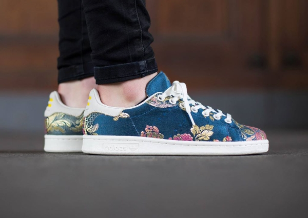 Adidas Stan Smith x Pharrell Williams Jacquard Chalk White (2)