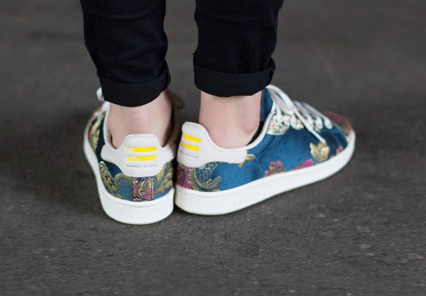 Adidas Stan Smith x Pharrell Williams Jacquard Chalk White (3)