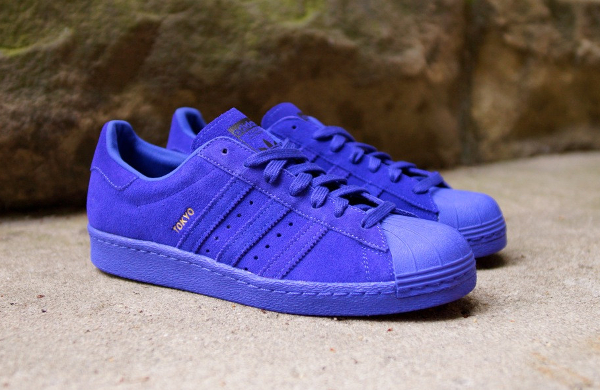 Adidas Superstar 80's City Tokyo Night Flash