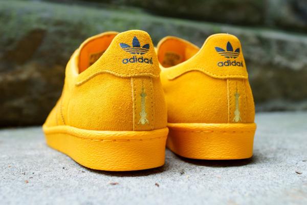 Adidas Superstar 80's Collegiate Gold City Shanghai (3)