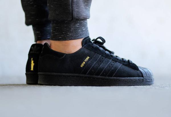 adidas superstar daim noir