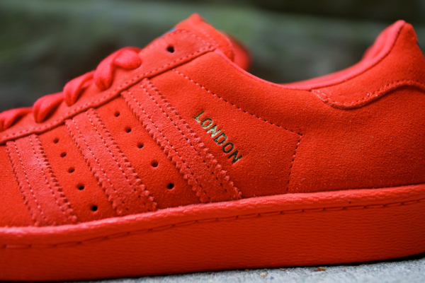 Adidas Superstar 80's Red City London (1)